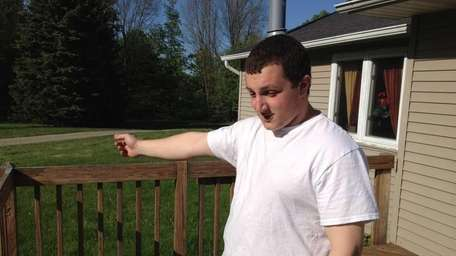 Andrew Salatti, 21, called 911 after he witnessed