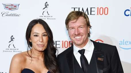 Joanna Gaines and Chip Gaines attend the TIME