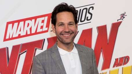 Paul Rudd during a 2018 photo call to