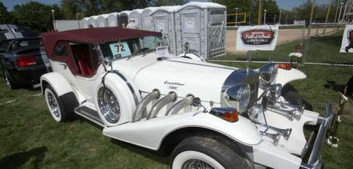 A 1979 Phaeton Roadster at Newsday's Field of