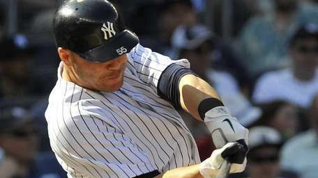 Russell Martin doubles in the 2nd inning. (May