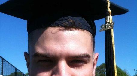 Tiernan Nolan, 23, graduated from Farmingdale College. (May