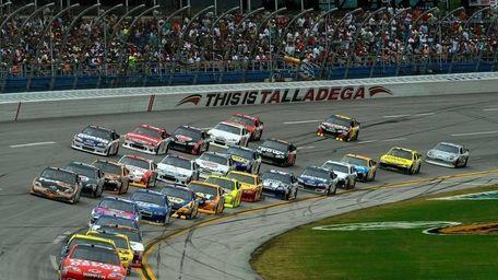 NASCAR tracks like this one in Darlington, S.C.,