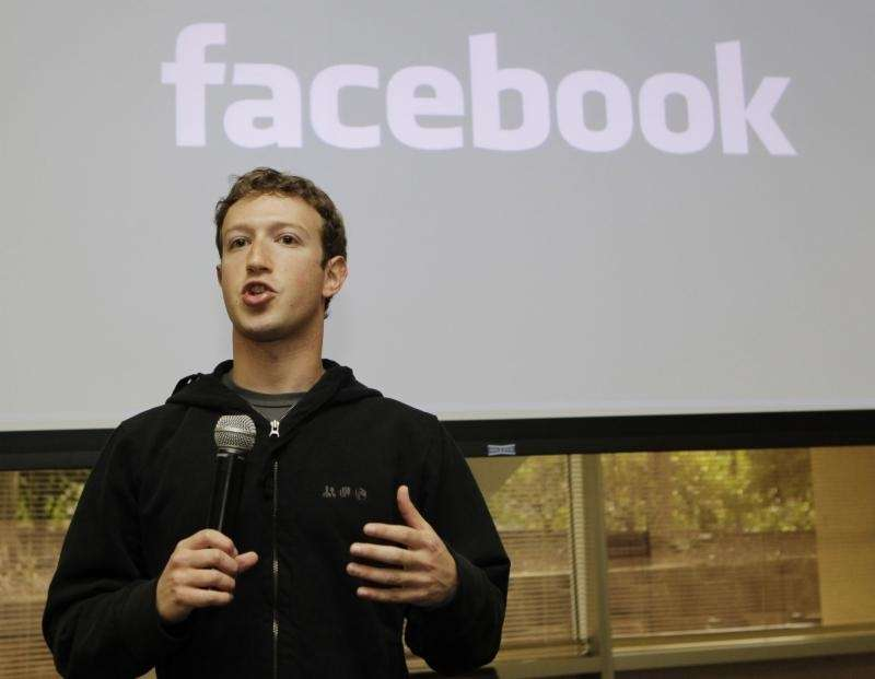 With Facebook's stock trading at near $20, chief