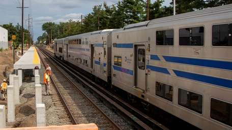 Work on the Long Island Rail Road's Third