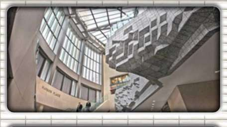 Frame grab of the Arts for Transits app