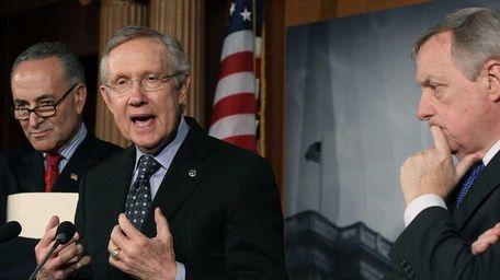 Senate Majority Leader Harry Reid of Nevada urges