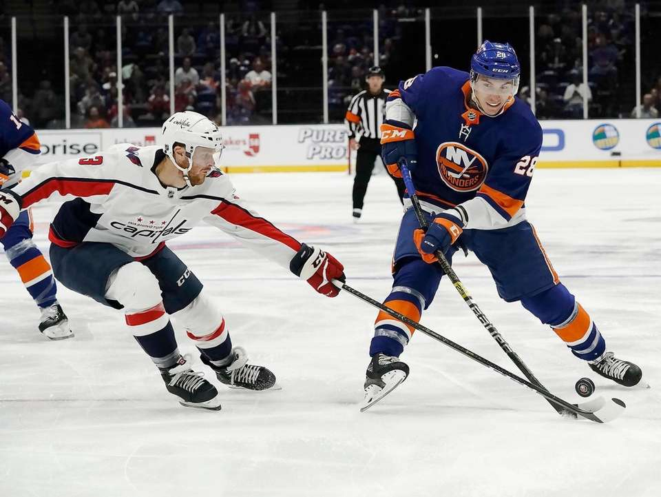New York Islanders left wing Michael Dal Colle