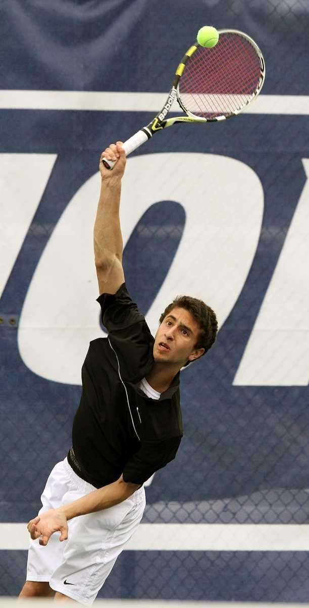 St. Anthony's John D'Alessandro during the championship singles