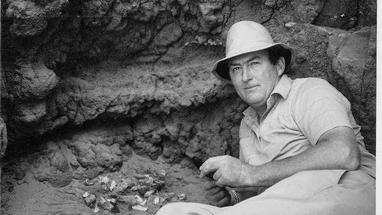 Richard Leakey in Kenya in 1989