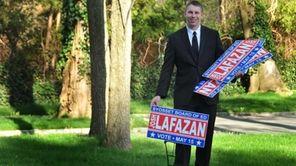 Josh Lafazan, 18, a Syosset High School senior,