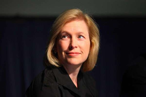 New York State Sen. Kirsten Gillibrand is a