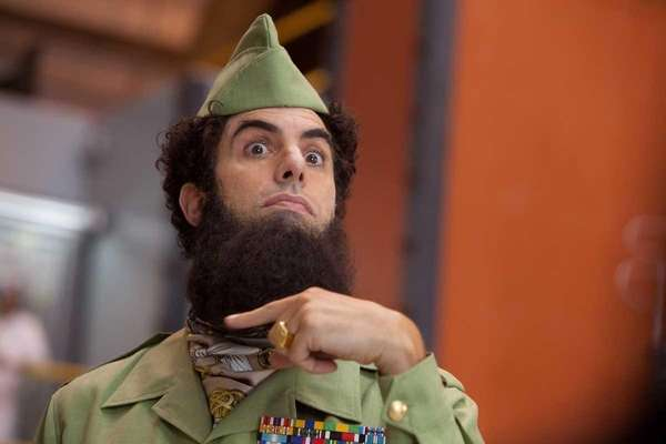 Sacha Baron Cohen in ?The Dictator,? from Paramount