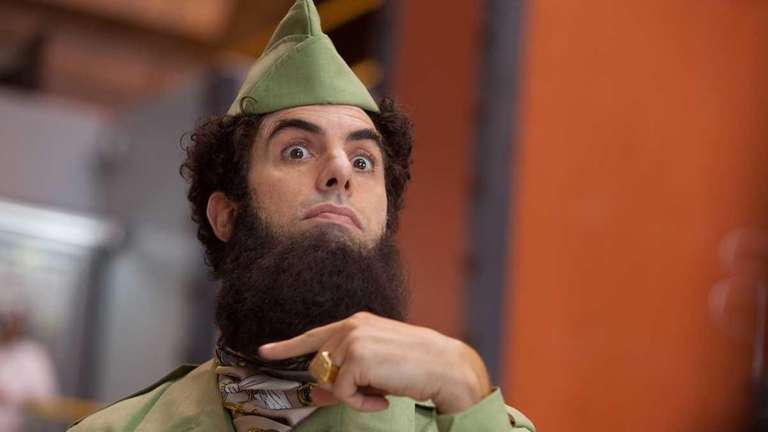 'The Dictator' review: It is painfully funny | NewsdaySacha Baron Cohen Movies