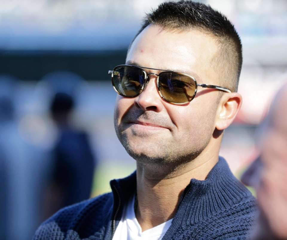 Former Yankee Nick Swisher at Game 2 of