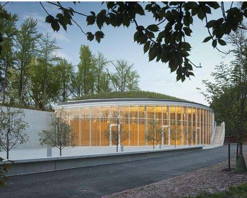 The Brooklyn Botanic Garden's new state-of-the-art visitor center