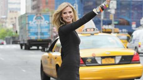 Heidi Klum is decked out in Wildlife by