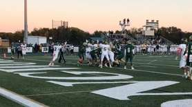 Longwood defeated Ward Melville, 27-21, in Suffolk Division