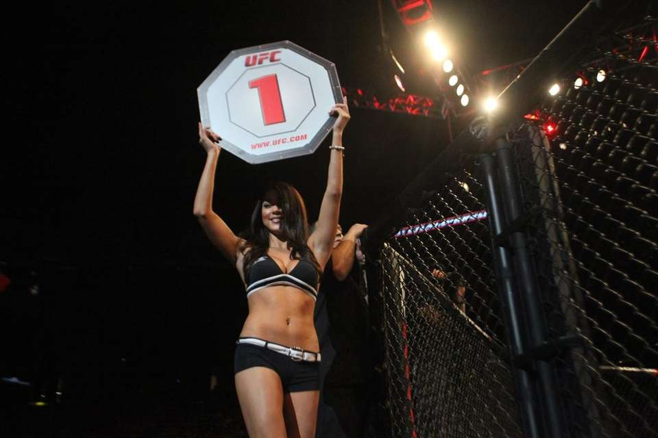 UFC Octagon girl Arianny Celeste at UFC on