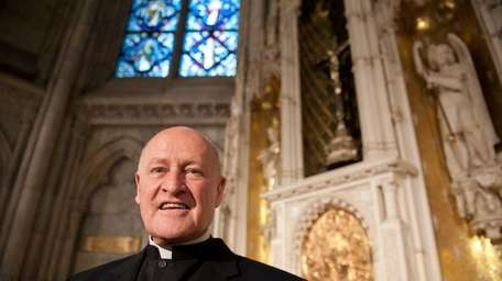 Msgr. Robert Ritchie is supervising St. Patrick's Cathedral's