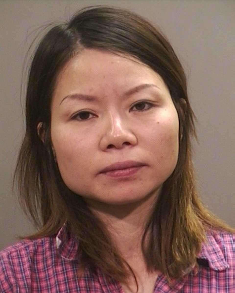 Yuhua Zhu, 40, of Jericho, was charged with