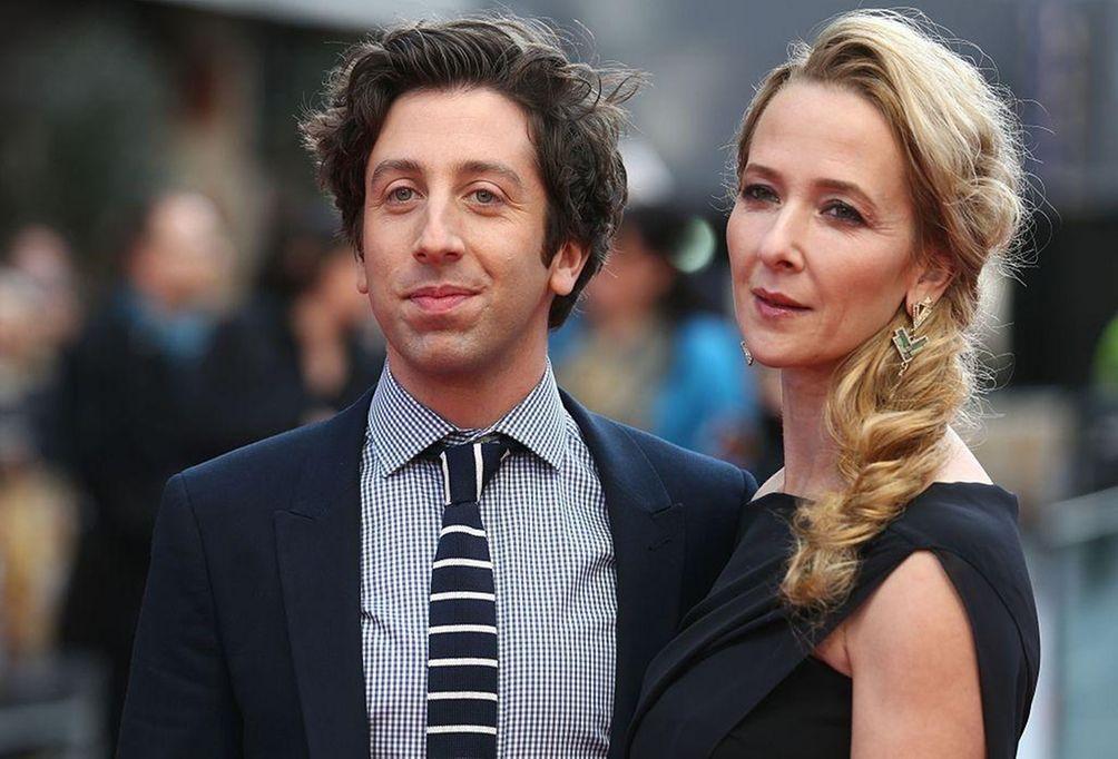 Parents: Simon Helberg and Jocelyn Towne Children: Wilder,