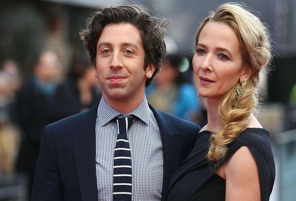 Parents: Simon Helberg and Jocelyn Towne Children: Wilder,