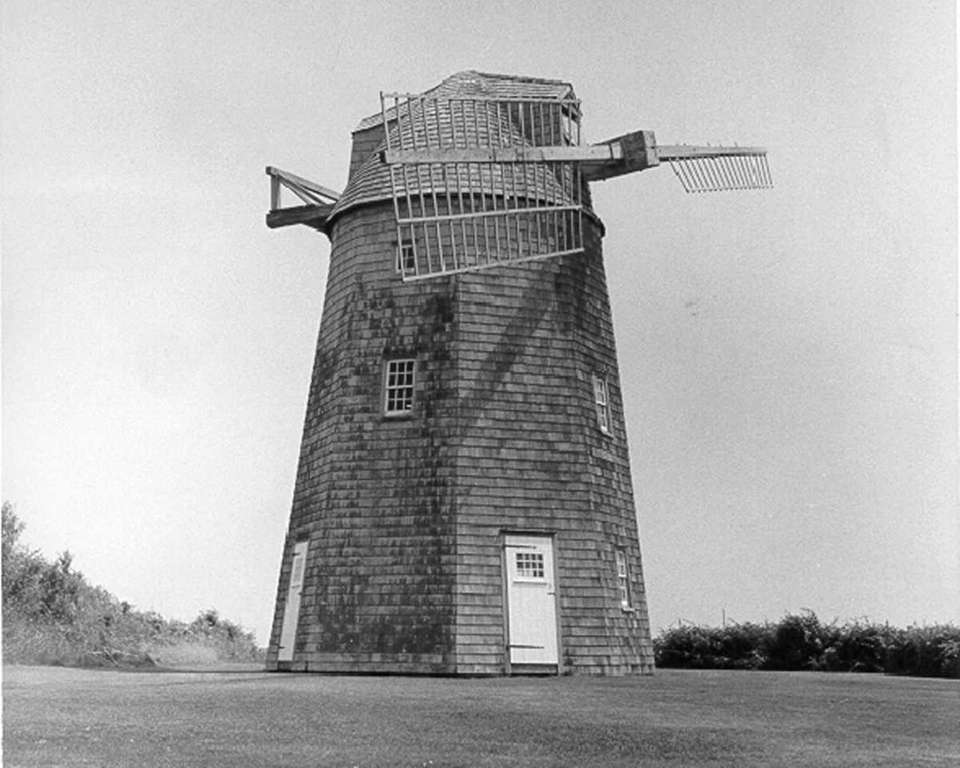 The 36-foot-tall Hayground Windmill is the last commercially