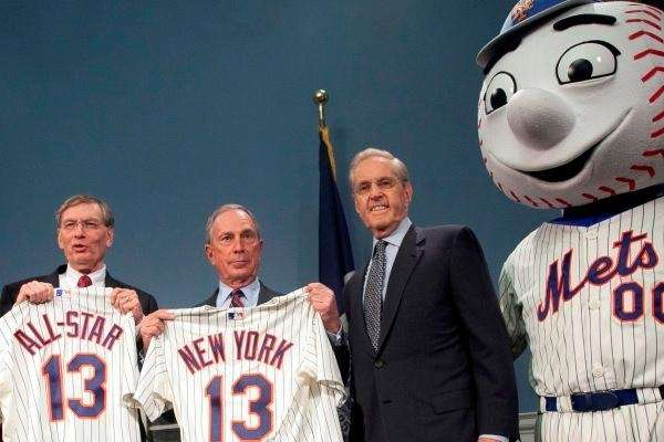 Bud Selig, Mayor Bloomberg, Fred Wilpon and Mr.
