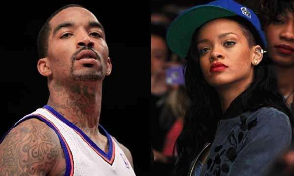 Rihanna and J.R. Smith