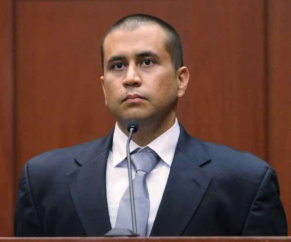 George Zimmerman on the stand during his bond