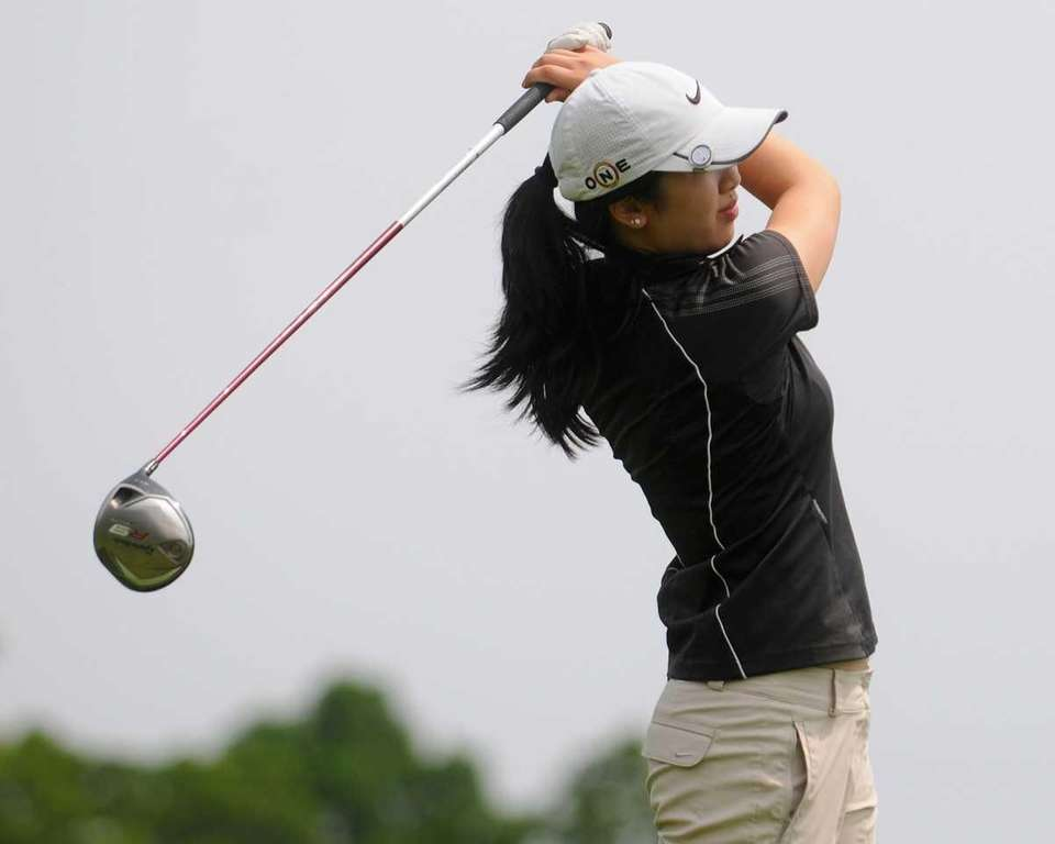 Tina Chang of St. Anthony's tees off on