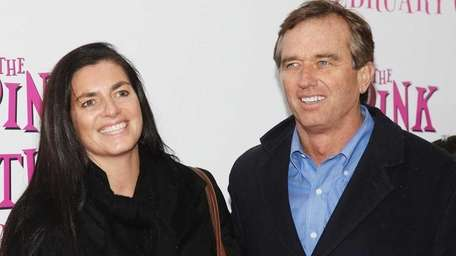 Mary Richardson Kennedy and her husband, environmental lawyer/activist