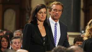 Mary and Robert F. Kennedy Jr. arrive to