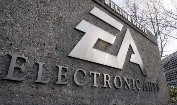 The exterior view of Electronic Arts Inc. headquarters