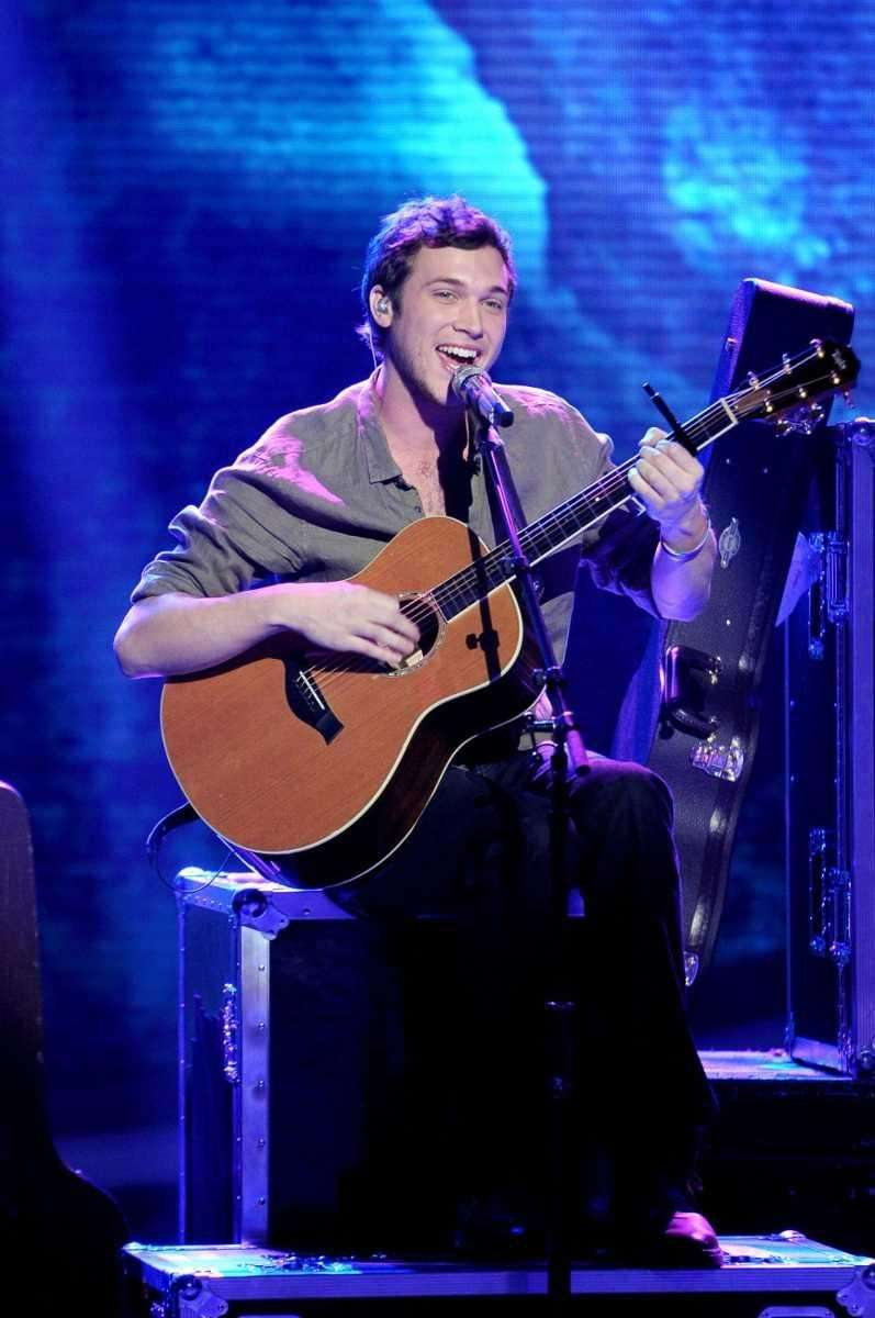 Phillip Phillips didn't wow the judges with his