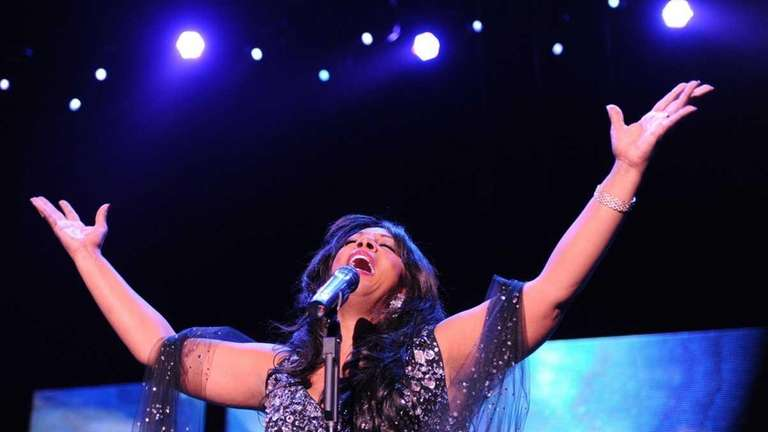 Donna Summer performs in Berlin on July 30,