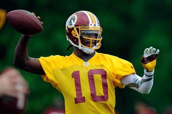 Robert Griffin III #10 of the Washington