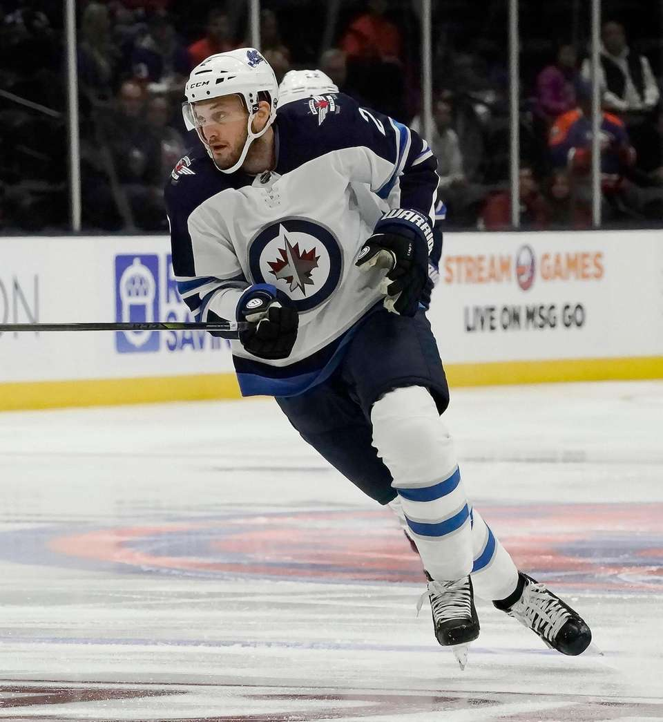 Long Island native Winnipeg Jets defenseman Anthony Bitetto