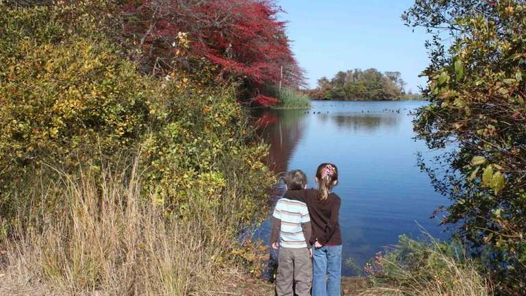 Caumsett State Historic Park Preserve consists of 1,750