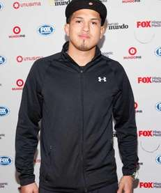 UFC fighter Anthony Pettis attends the Fox Hispanic