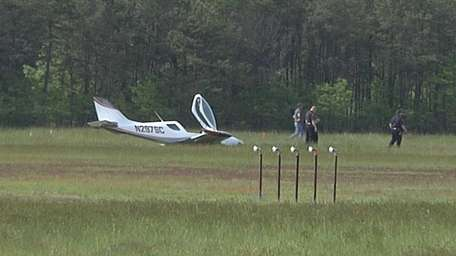 The pilot of a light sport plane lost