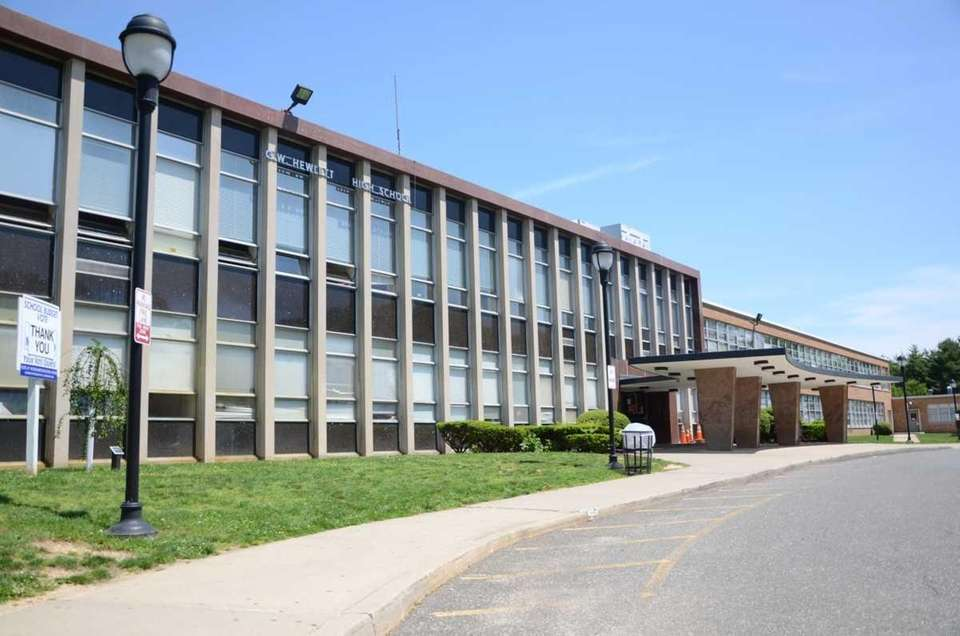 George W. Hewlett High School, located at Everit