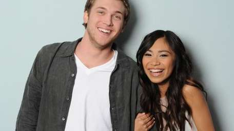 Phillip Phillips and Jessica Sanchez are the two