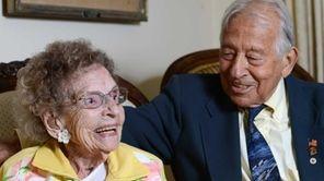 John DaVanzo, 90, pays one of his regular