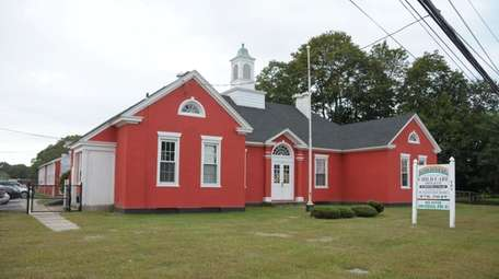 The Little Red Schoolhouse in Moriches opened in