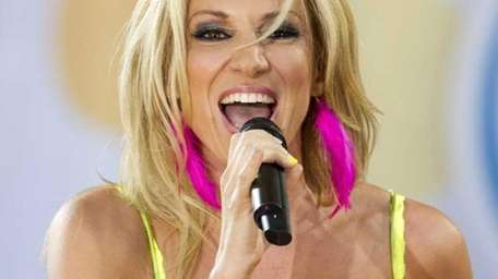 Debbie Gibson performs on