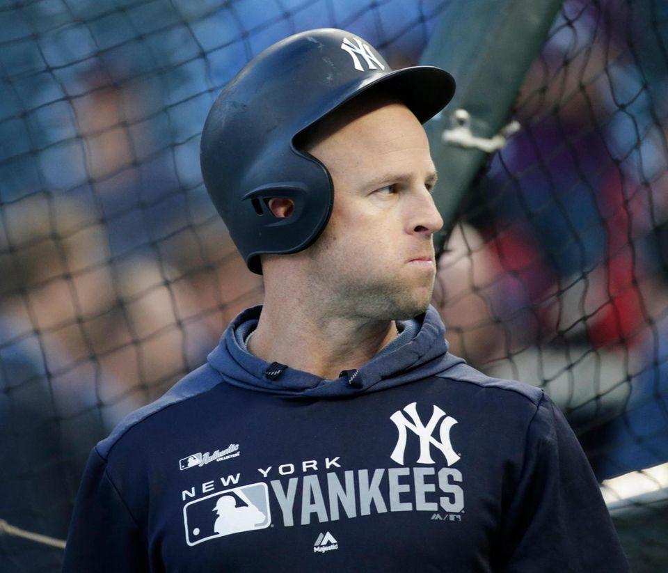 New York Yankees left fielder Brett Gardner (11)