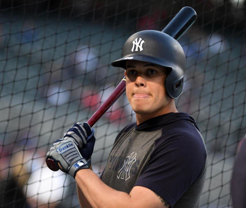 New York Yankees third baseman Gio Urshela (29)