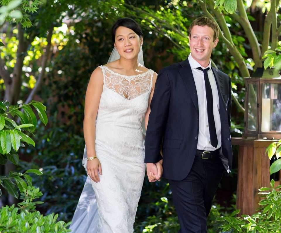 This photo provided by Facebook shows Facebook founder
